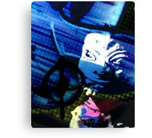 Talkies Canvas Print