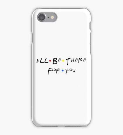Friends Theme Song iPhone Case/Skin