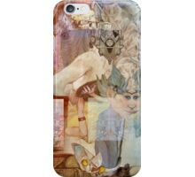 Big Giant Rider of Elephants on the Alaskan Boarder. iPhone Case/Skin