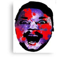 Tim Lee - Galaxy Face Canvas Print