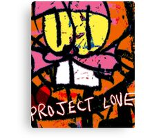 Project Love Canvas Print
