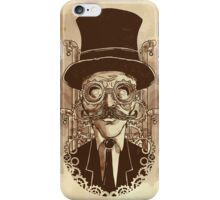 Steampunk Mustache iPhone Case/Skin