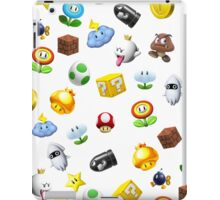 mario icons iPad Case/Skin