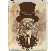 Steampunk Mustache iPad Case/Skin