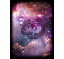 Space Cat Unisex Tee & More Photographic Print