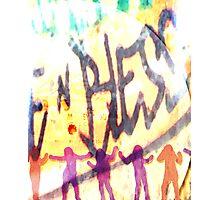 m.m. club dance remix Photographic Print