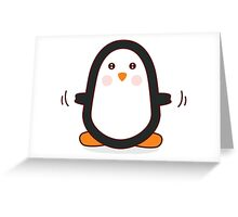 Penguin! Greeting Card
