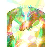 twin flames Photographic Print