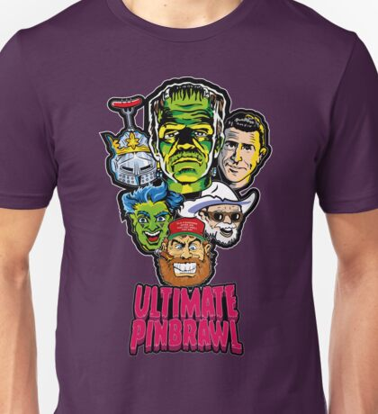 Ultimate Pinbrawl Unisex T-Shirt
