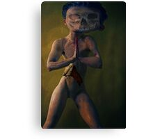 SCARY DOLLS AND OTHER CHILDHOOD TOYS Canvas Print