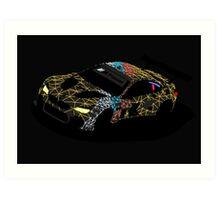 BMW M6 GTLM Art Print