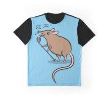 Singing Shrew Graphic T-Shirt