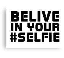 Facebook Funny Popular Selfie Internet Joke T-Shirt  Canvas Print