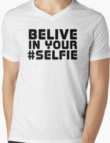 Facebook Funny Popular Selfie Internet Joke T-Shirt  Mens V-Neck T-Shirt