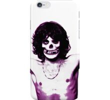 THE MISFITS JIM MORRISON Mash Up (Original/ White) iPhone Case/Skin