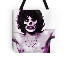 THE MISFITS JIM MORRISON Mash Up (Original/ White) Tote Bag