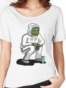 SAD BOYS PEPE  Women's Relaxed Fit T-Shirt