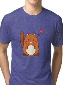 Squirrel Tri-blend T-Shirt