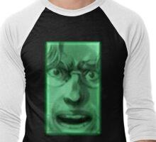 Otacon Panic Face Men's Baseball ¾ T-Shirt