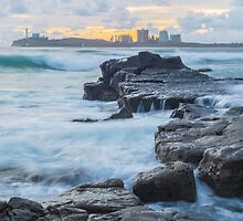 Mooloolaba Rocks  by Steve E