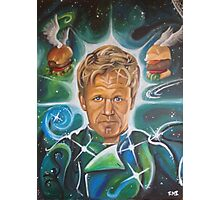 Galactic Overlord Gordon Ramsay Photographic Print