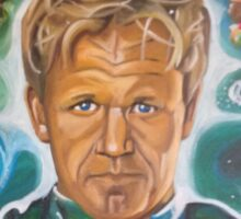 Galactic Overlord Gordon Ramsay Sticker