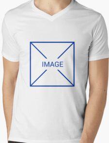 UX No Image Mens V-Neck T-Shirt