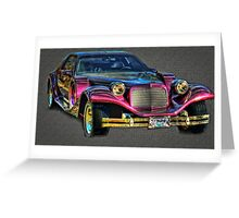 One Cool Exotic Car! Greeting Card