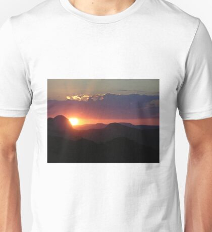 Brazil Sunset Unisex T-Shirt