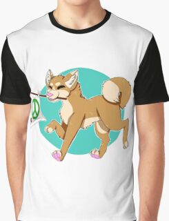 Gunther the Positivity Dog Graphic T-Shirt