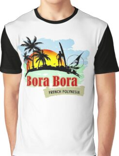 Bora Bora Summer Time Graphic T-Shirt