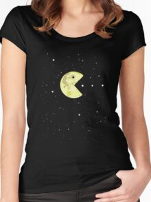 Pac-Moon Women's Fitted Scoop T-Shirt