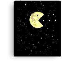 Pac-Moon Canvas Print
