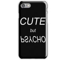 But Psycho, 2 iPhone Case/Skin