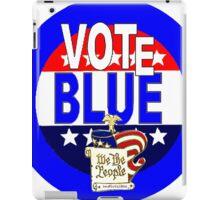 VOTE BLUE Old Glory iPad Case/Skin