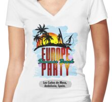 Andalusia, Spain Women's Fitted V-Neck T-Shirt