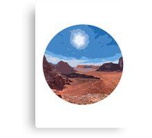 Desert Romance Canvas Print