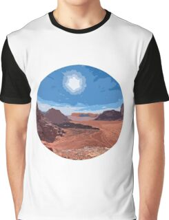 Desert Romance Graphic T-Shirt