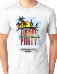 Zrce Spring Break, Croatia Unisex T-Shirt