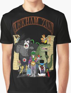 Arkham Asylum Zoo Graphic T-Shirt