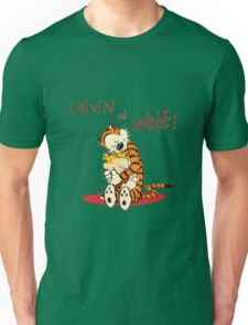Calvin and Hobbes Big Hugs Unisex T-Shirt