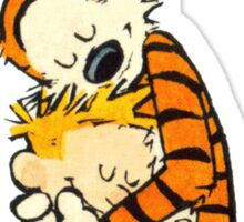Calvin and Hobbes Big Hugs Sticker