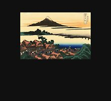 'Dawn at Isawa in the Kai Province' by Katsushika Hokusai (Reproduction) Unisex T-Shirt