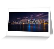 Calm Sydney Harbour Greeting Card