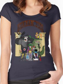 Arkham Asylum Zoo Women's Fitted Scoop T-Shirt