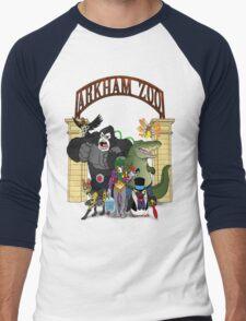 Arkham Asylum Zoo Men's Baseball ¾ T-Shirt