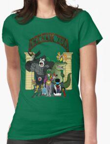 Arkham Asylum Zoo Womens Fitted T-Shirt
