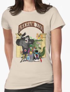 Arkham Asylum Zoo Womens Fitted T-Shirt
