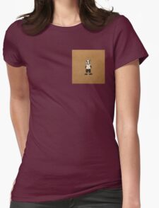 Mr Badger  Womens Fitted T-Shirt