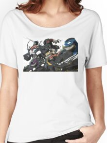 TMNT Symbiotes WHITE Women's Relaxed Fit T-Shirt